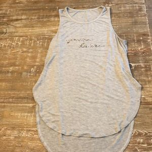 Pure Barre Splits 59 Nitty Gritty Tank Small